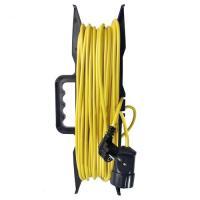 Удлинитель-шнур на рамке ТМ Союз ПВС 3*0,75 1гн. з/к 2200Вт 20м (5302)