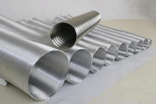 Воздуховод алюминиевый 3м.d 125мм.