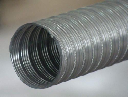 Воздуховод алюминиевый 3м.d 80мм.