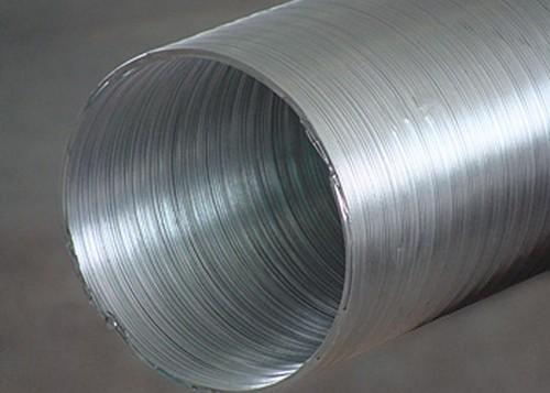 Воздуховод алюминиевый 3м.d 90мм.