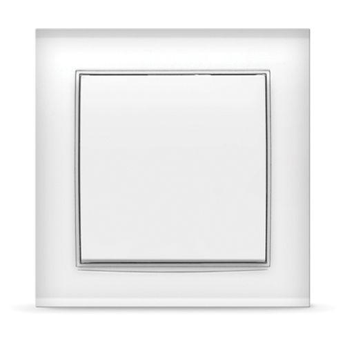 """Выключатель однокл. """"Бриллиант"""", с/у, 10А, 220В, белый (7947366)"""