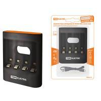 Зарядное устройство 36044 (3600 mA 4 слота АА/ААА 4 кан.USB) TDM (SQ1702-0100)